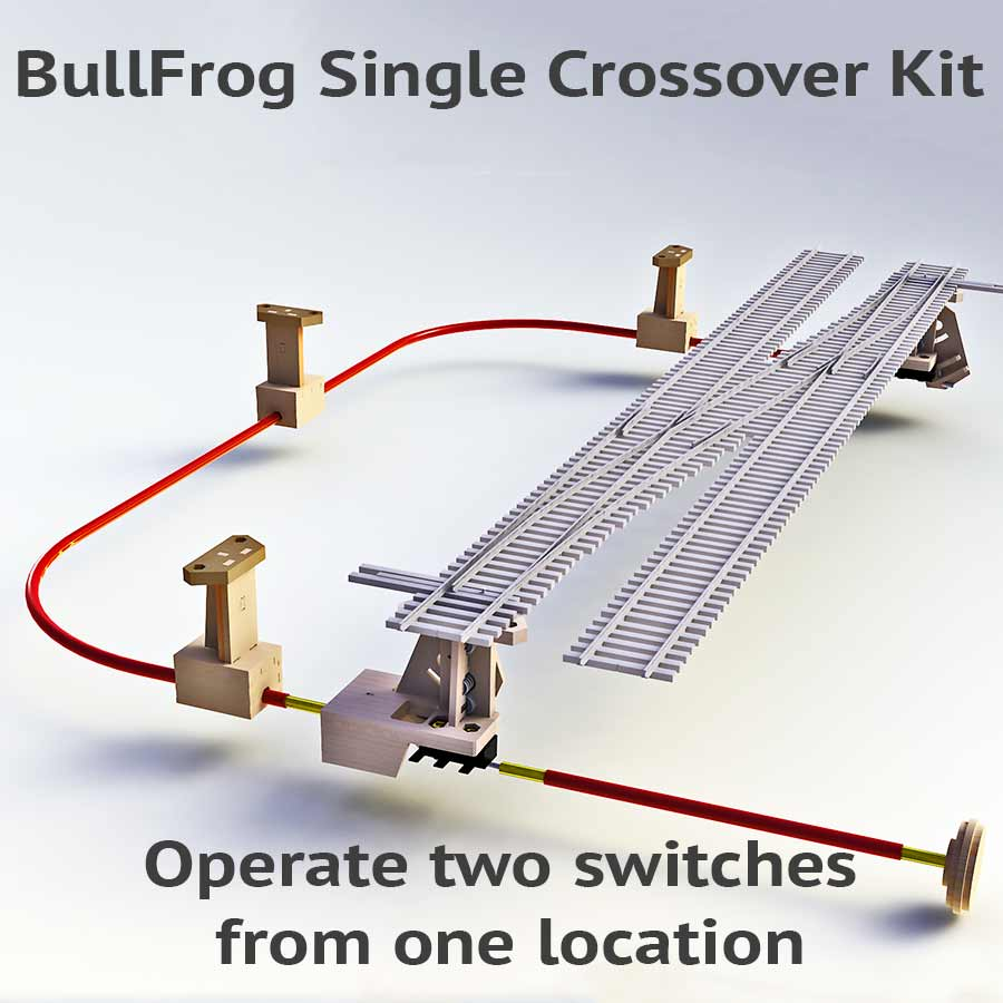 ho dcc track wiring bullfrog single crossover kit #3