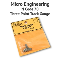 3 Point Track Gauge - N Scale, Code 70