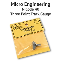 3 Point Track Gauge - N Scale, Code 40