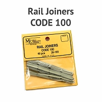 Rail Joiners - Code 100