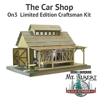 The Car Shop - On3  Limited Edition Craftsman Kit