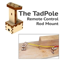 TadPole Remote Control Rod Mount