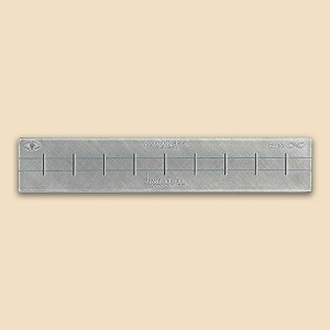 HO Siding Straight Track Fixture for ME Code 55 Rail
