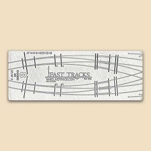 N Scale, #8, 22R/16R Curved Turnout Fixture for Micro Eng 55 Rail
