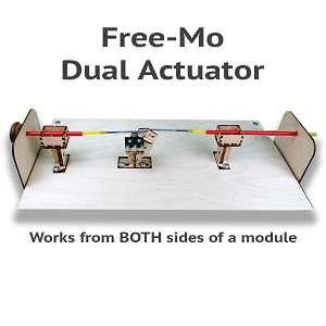 BullFrog Dual Actuator Kit - For Free-mo Modules