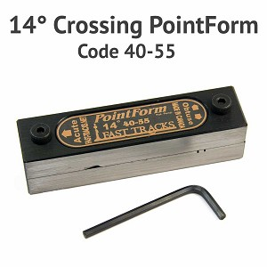 14? Crossing PointForm for Code 40 & 55 Rail