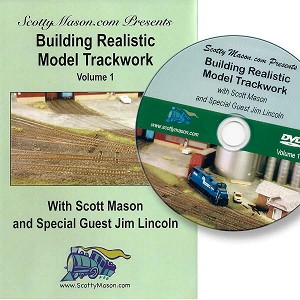 Scotty Masons Building Realistic Model Trackwork DVD