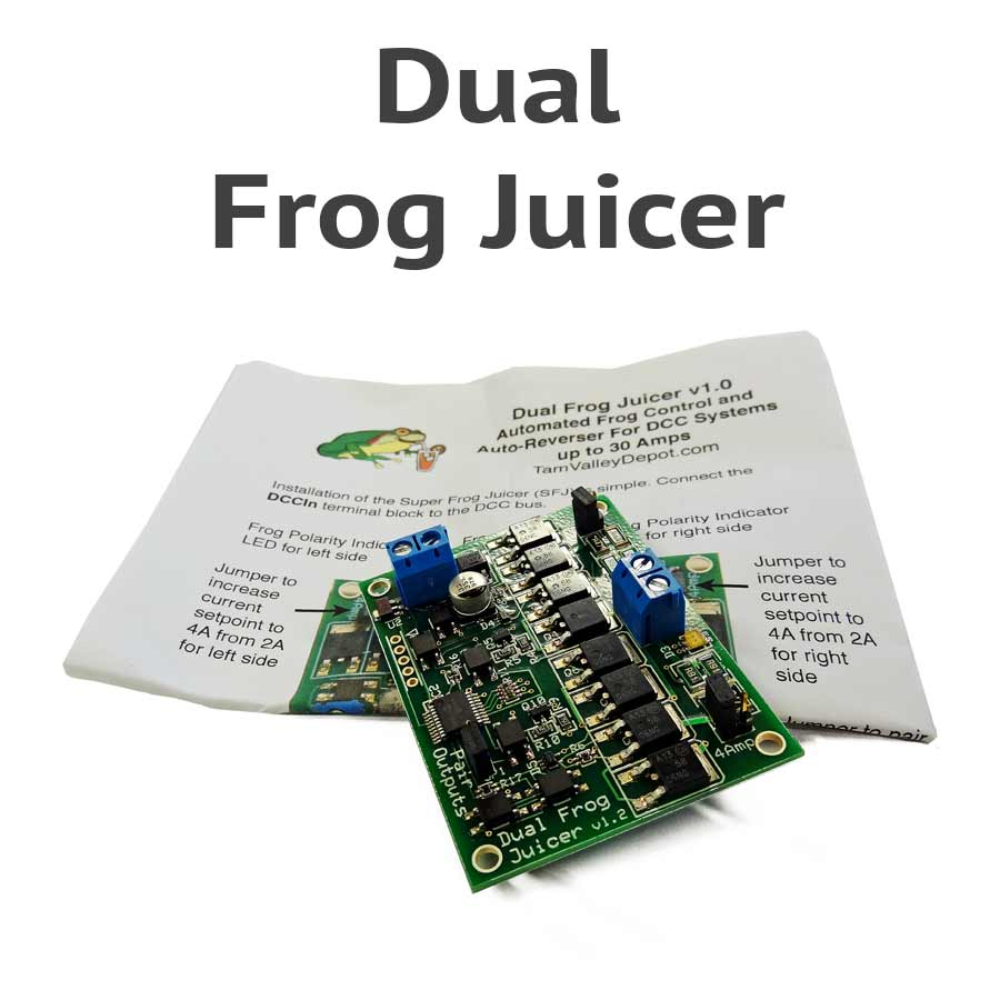 Universal Dual Frog Juicer Automatic Polarity Switcher Dcc Track Wiring Wye