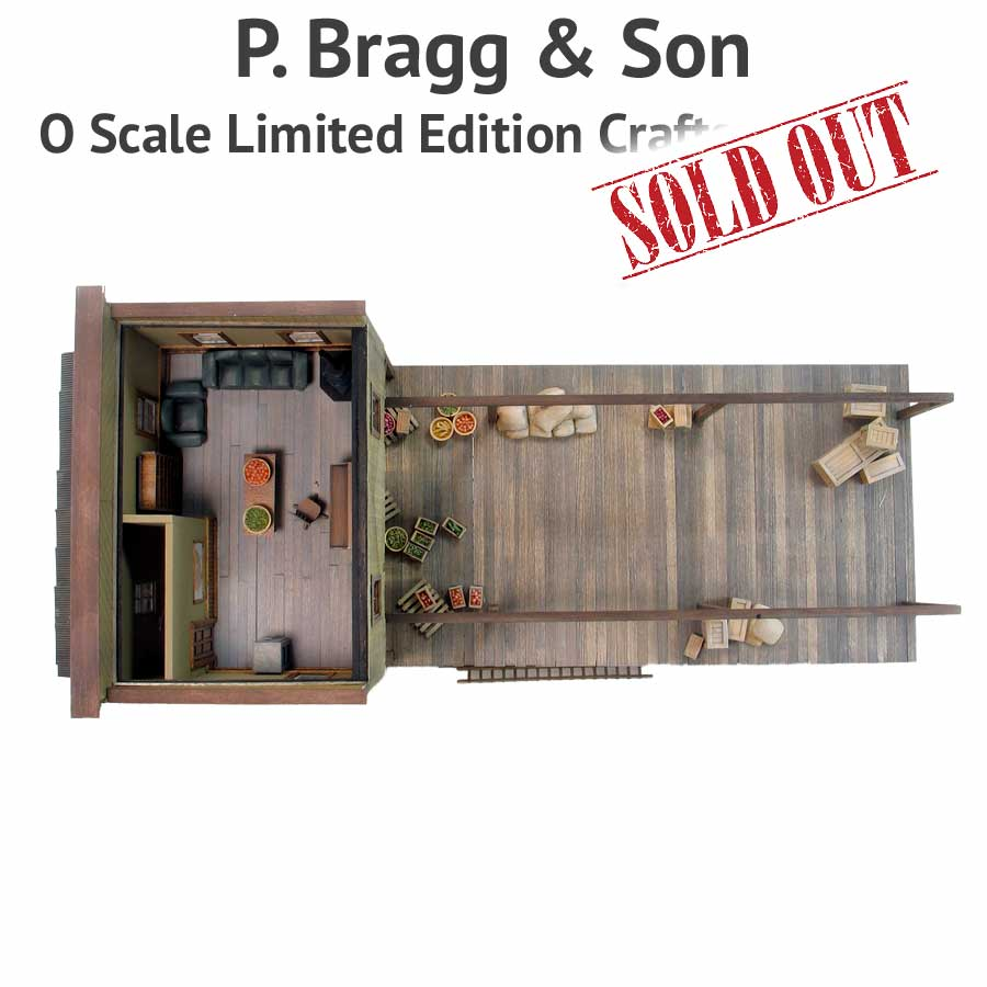 P  Bragg & Son Produce - O Scale Limited Edition Craftsman Kit