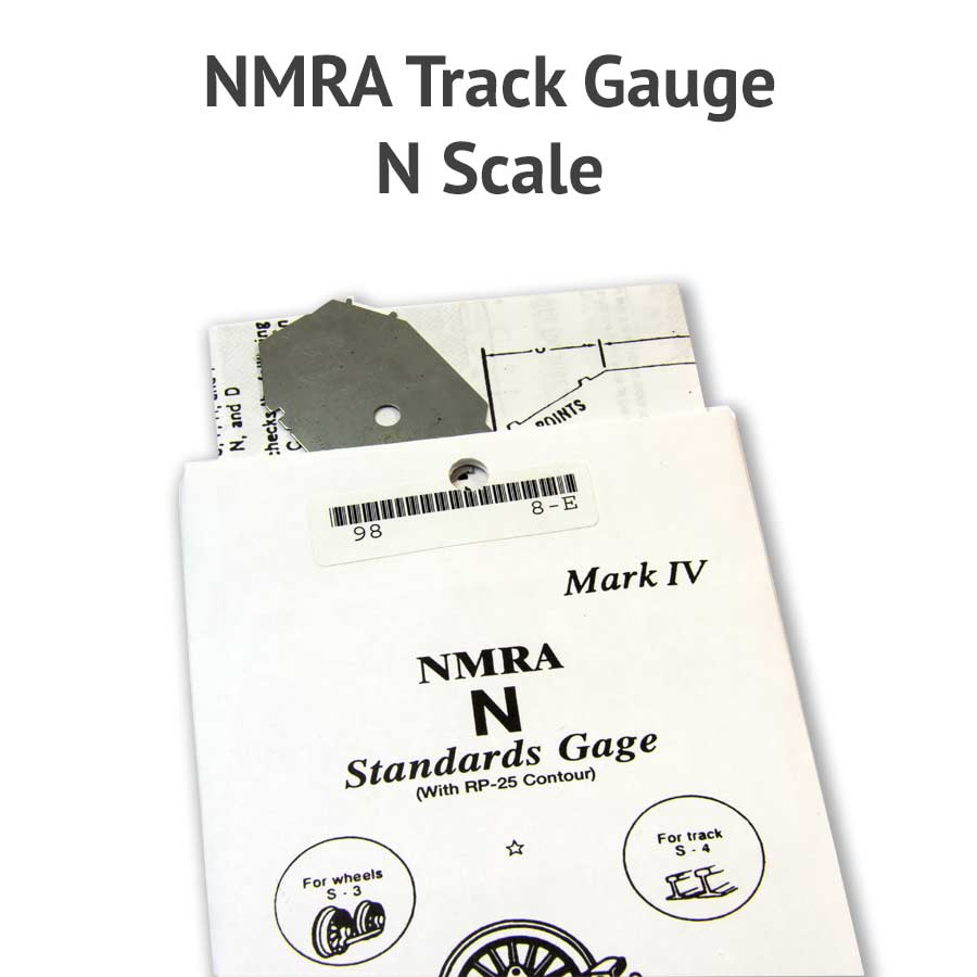 This is a photo of Challenger Printable N Scale Track Template