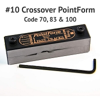#10 Crossover PointForm for Code 70, 83 & 100 Rail