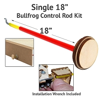 BullFrog Control Rod Kit - 18