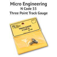 3 Point Track Gauge - N Scale, Code 55