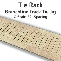 Tie Rack - Tie Jig for O Scale Branchline Track