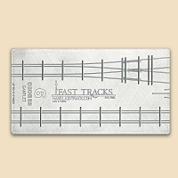 HO Scale, #6 Gantlet Track Assembly Fixture for Micro Engineering 83 Rail