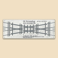 HO Scale, 19° Crossing Assembly Fixture for Micro Engineering 70 Rail