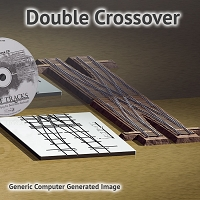 N Scale, #6 Crossover Assembly Fixture for Micro Engineering 40 Rail