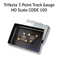 Trifecta 3 Point Track Gauge HO Code 100 - Discontinued
