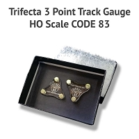 Trifecta 3 Point Track Gauge HO Code 83