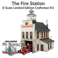 The Fire Station - O Scale Limited Edition Craftsman Kit
