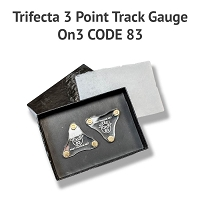 Trifecta 3 Point Track Gauge On3 Code 83 - Discontinued