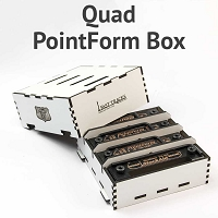 Quad PointForm and StockAid Storage Box