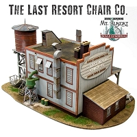 The Last Resort Chair Company -   O Scale Limited Edition Craftsman Kit