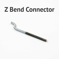 Z Bend Control Rod to BullFrog Connector