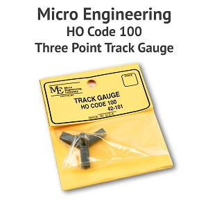 3 Point Track Gauge - HO Scale, Code 100