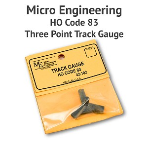 3 Point Track Gauge - HO Scale, Code 83
