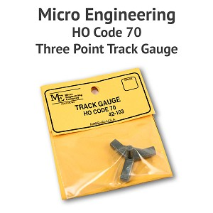 3 Point Track Gauge - HO Scale, Code 70