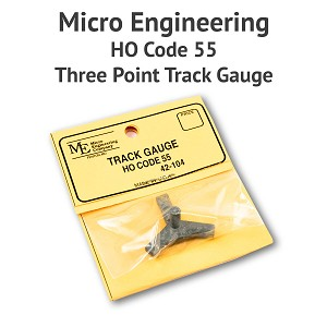 3 Point Track Gauge - HO Scale, Code 55