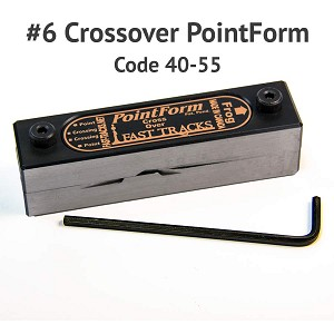#6 Crossover PointForm for Code 40 & 55 Rail