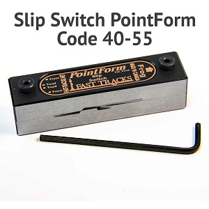 #5 Slipswitch PointForm for Code 40 & 55 Rail