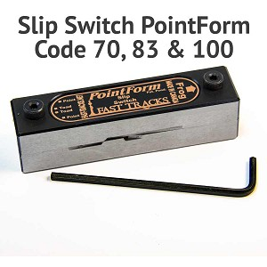 #6 Slipswitch PointForm for Code 70, 83 & 100 Rail
