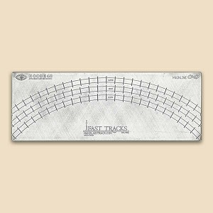 "N Scale Mainline, 11.25""R, 12.5""R, 13.75""R Curved Track Fixture for Code 40"