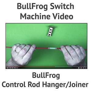 Control Rod Hanger/Joiner For The BullFrog