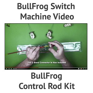 BullFrog Control Rod Kit
