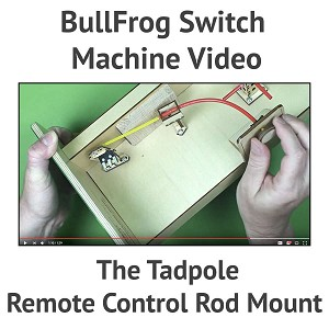 The TadPole Remote Control Rod Mount