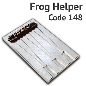 Frog Helper for #8, #10 & #12 and ME Code 148 Rail
