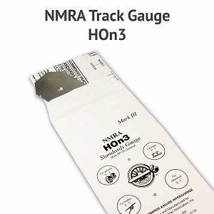 NMRA Mark III, HOn3 Standards Track Gauge