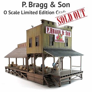P. Bragg & Son Produce - O Scale Limited Edition Craftsman Kit