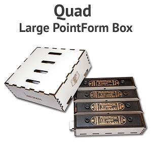 Quad PointForm Box for Large PointForms