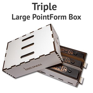 Triple PointForm Box for Large PointForms