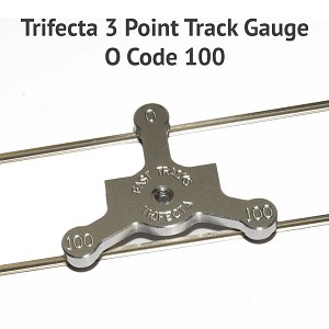 Trifecta 3 Point Track Gauge O Code 100