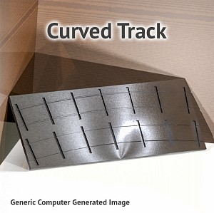 "On3 Branchline, 40""R, 42""R Curved Track Fixture for ME Code 100 Rail"