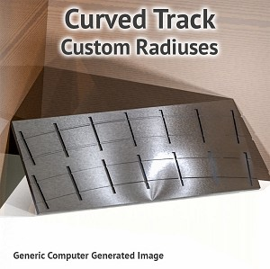 O Scale, Curved Track Assembly Fixture for ME Code 125 Rail - Custom Radiuses