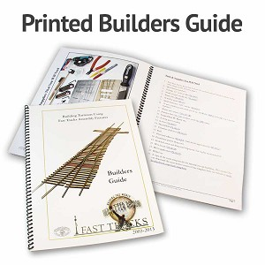 Fast Tracks Printed Turnout Builders Guide