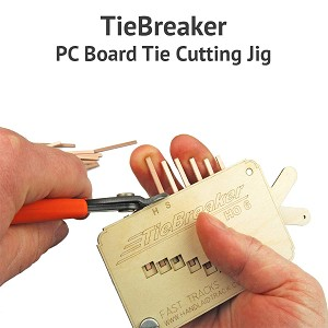 TieBreaker PC Board Cutting Tool For S, #8 Turnouts